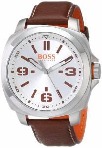 [ヒューゴボス]HUGO BOSS  BOSS Orange BRISBANE Analog Display Quartz Brown Watch 1513097