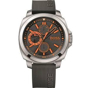 [ヒューゴボス]HUGO BOSS BlackTone Dial SS Silicone Multifunction Quartz Watch 1513101 Brisbane