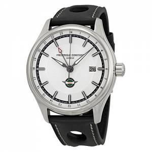 [フレデリックコンスタント]Frederique Constant Healey GMT Silver Dial Watch FC350HS5B6