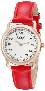 [バージ]Burgi 腕時計 Analog Display Quartz Red Watch BUR121RD レディース