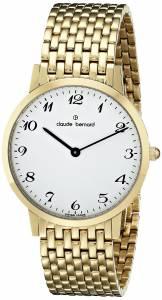 [クロードベルナール]claude bernard Classic Gents Slim Line Analog Display 20061 37JM BB