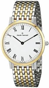 [クロードベルナール]claude bernard Classic Gents Slim Line Analog Display 20061 357JM BR