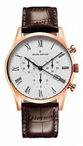 [クロードベルナール]claude bernard Classic Dress Chronograph Analog Display 10218 37R BR