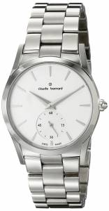 [クロードベルナール]claude bernard Classic Analog Display Swiss Quartz Silver 23092 3 AIN2