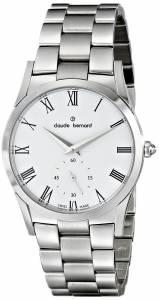 [クロードベルナール]claude bernard Classic Analog Display Swiss Quartz Silver 23092 3 BR