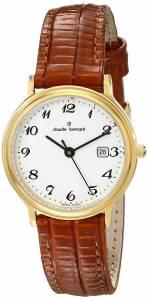 [クロードベルナール]claude bernard Classic Analog Display Swiss Quartz Brown 31211 37J BB