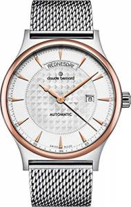 [クロードベルナール]claude bernard Classic Gents Automatic DayDate Analog 83014 357RM AIR