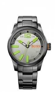 [ヒューゴボス]HUGO BOSS 腕時計 Grey Dial SS Quartz Watch 1513050 メンズ