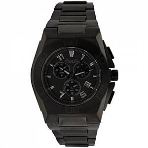 [ケネスコール]Kenneth Cole 腕時計 New York IP Chronograph Watch Black KC9300 メンズ