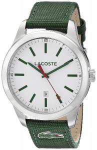 [ラコステ]Lacoste  Auckland Analog Display Japanese Quartz Green Watch 2010777 メンズ