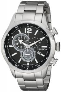 [ノーティカ]Nautica  NCS 18 Analog Display Japanese Quartz Silver Watch NAD16509G メンズ