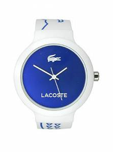 [ラコステ]Lacoste 腕時計 Goa ThreeHand White Silicone watch 2020094 ユニセックス