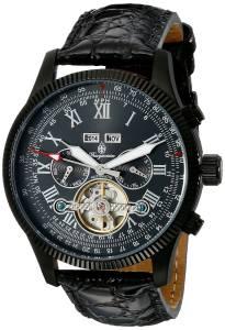 [ブルゲルマイスター]Burgmeister  Analog Display Automatic Self Wind Black Watch BM330-622