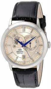 [オリエント]Orient  Analog Display Japanese Automatic Black Watch FET0P003W0 メンズ