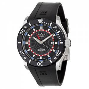 [エドックス]Edox  Class 1 GMT Worldtimer Automatic Watch 930053NBUR 93005-3-NBUR メンズ