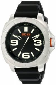 [ヒューゴボス]HUGO BOSS BOSS Orange Sao Paulo Stainless Steel Watch with Black 1513107