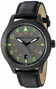[ノーティカ]Nautica 腕時計 BFD 105 DATE Analog Display Quartz Black Watch N11109G メンズ