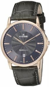[エドックス]Edox  Les Bemonts Analog Display Swiss Quartz Grey Watch 56001 37R GIR メンズ