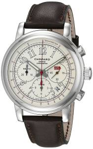 [ショパール]Chopard 腕時計 Stainless Steel Watch with Brown Band 168511-3036 LBR メンズ