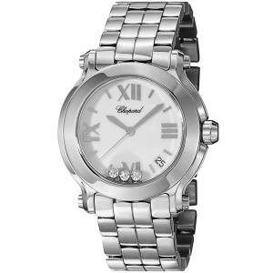 [ショパール]Chopard  Analog Display Swiss Quartz Silver Watch 278477-3013 レディース