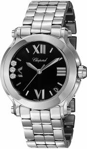 [ショパール]Chopard  Analog Display Swiss Quartz Silver Watch 278477-3014 レディース