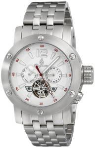 [ブルゲルマイスター]Burgmeister Analog Display Automatic Self Wind Silver Watch BM329-111