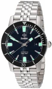 [ゾディアック]Zodiac 腕時計 Heritage Automatic Stainless Steel Watch ZO9250 メンズ