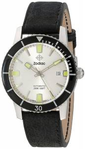 [ゾディアック]Zodiac  Heritage Analog DisplaySwiss Automatic Black Watch ZO9251 メンズ