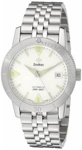 [ゾディアック]Zodiac  Heritage Analog Display Swiss Mechanical Automatic Silver Watch ZO9200