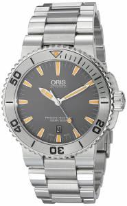 [オリス]Oris 腕時計 Aquis Analog Display Swiss Automatic Silver Watch 73376534158MB メンズ