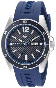 [ラコステ]Lacoste 腕時計 Seattle Analog Display Japanese Quartz Blue Watch 2010803 メンズ