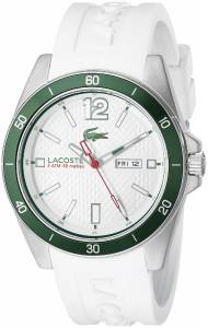 [ラコステ]Lacoste  Seattle Analog Display Japanese Quartz White Watch 2010802 メンズ