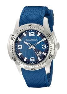 [ノーティカ]Nautica  NCS 16 Analog Display Japanese Quartz Blue Watch NAD12522G メンズ