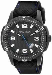 [ノーティカ]Nautica  NCS 16 Analog Display Japanese Quartz Black Watch NAD13511G メンズ