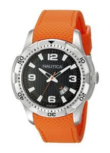 [ノーティカ]Nautica  NCS 16 Analog Display Japanese Quartz Orange Watch NAD12519G メンズ