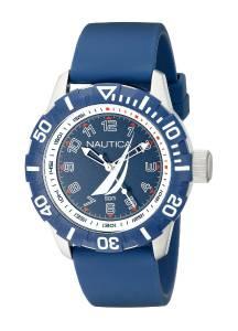[ノーティカ]Nautica  NSR 100 JClass Analog Display Japanese Quartz Blue Watch NAD08505G