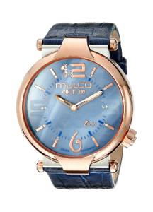 [マルコ]MULCO  Couture Slim Analog Display Swiss Quartz Blue Watch MW5-3183-043 レディース