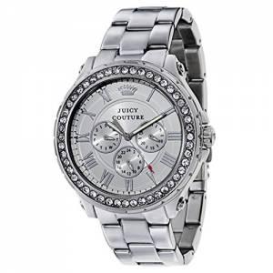 [ジューシークチュール]Juicy Couture  Pedigree Analog Display Quartz Silver Watch 1901254