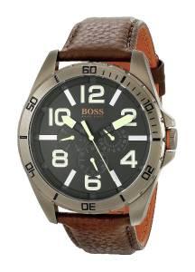 [ヒューゴボス]HUGO BOSS BOSS Orange Berlin Analog Display Japanese Quartz Brown Watch 1513166