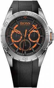 [ヒューゴボス]HUGO BOSS BOSS Orange Berlin Analog Display Japanese Quartz Black Watch 1513203