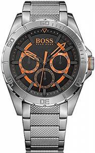 [ヒューゴボス]HUGO BOSS BOSS Orange Berlin Analog Display Japanese Quartz Silver Watch 1513205
