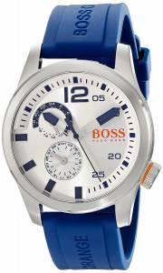 [ヒューゴボス]HUGO BOSS  BOSS Orange Paris Analog Display Japanese Quartz Blue Watch 1513146