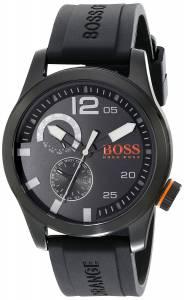 [ヒューゴボス]HUGO BOSS BOSS Orange Paris Analog Display Japanese Quartz Black Watch 1513147