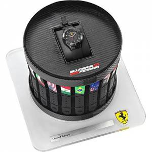 [フェラーリ]Ferrari  Scuderia Grand Prix Pit Crew Limited Edition Watch Black 830134 メンズ