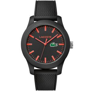 [ラコステ]Lacoste  Sport 2010794 wristwatch very sporty ACOSTE POLOSHIRT IN A WATCH KOLLEKTION