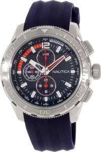 [ノーティカ]Nautica 腕時計 NST 101 Chrono Silicone Navy watch # N18724G メンズ