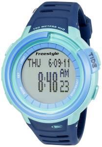 [フリースタイル]Freestyle Mariner Tide Digital Display Japanese Quartz Blue Watch 10022918