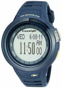 [フリースタイル]Freestyle Mariner Tide Digital Display Japanese Quartz Blue Watch 10022920