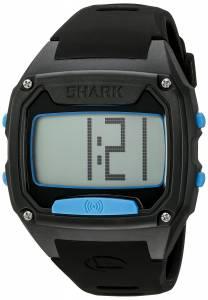 [フリースタイル]Freestyle Shark Tooth Digital Display Japanese Quartz Black/ Cyan 10025776