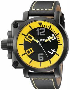 [ハウレックスイタリア]Haurex  Italy Gun Analog Display Quartz Black Watch 6N508UYN